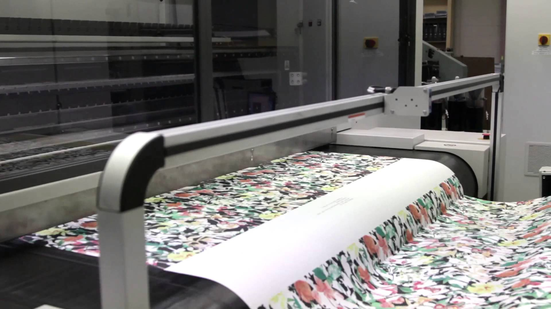 Digital printer for Fabric printing